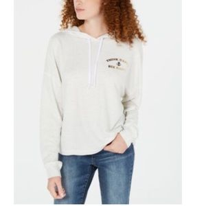 Rebellious One JRS Light Heather Gray Hooded Top